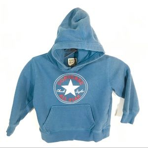 Converse All Star Blue Kids Pullover Hoodie